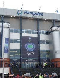 Hampden Park Football Scotland England