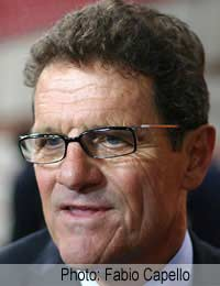 England Football World Cup 2010 Capello